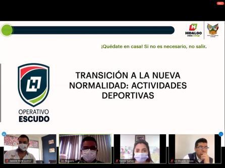 """INHIDE realiza capacitación virtual titulada """"Transición a la nueva normalidad""""4"""