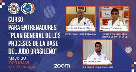 La asociación hidalguense de judo participó en el segundo curso de la confederación panamericana de esta disciplina