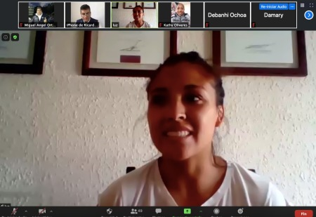 """Luz Olvera platica en sesión virtual las """"Vivencias de una campeona"""""""