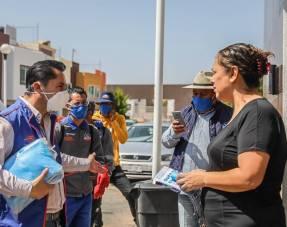 Mineral de la Reforma no baja la guardia, permanente jornada de sanitización 1