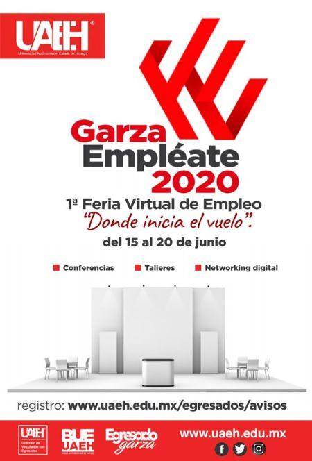 Ofrecerá Feria del Empleo Virtual UAEH conferencias y talleres gratuitos