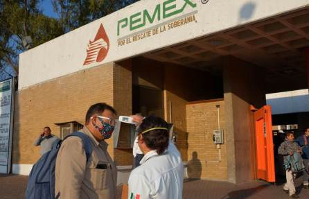 """Por el Covid-19 refuerzan medidas preventivas sanitarias en la Refinería """"Miguel Hidalgo"""" de Tula2"""