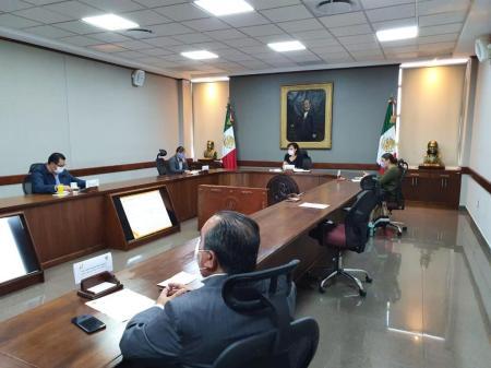 Sesiona la Junta de Gobierno del Congreso del estado