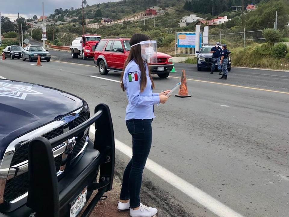 Sin incidencias graves en puntos de control vehicular, CDHEH2