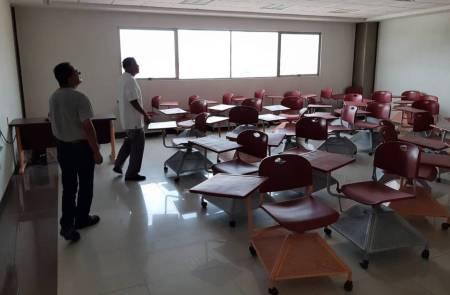 Sin incidencias mayores en instalaciones de UAEH, tras sismo2