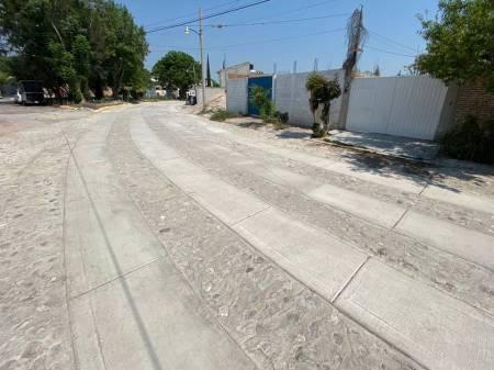 SOPOT concluye obra de pavimentación hidráulica en Ixmiquilpan 1