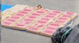 Aduanas decomisa 130 Kilogramos de cocaína en la aduana de Manzanillo