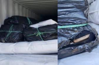 Aduanas decomisa 130 Kilogramos de cocaína en la aduana de Manzanillo2