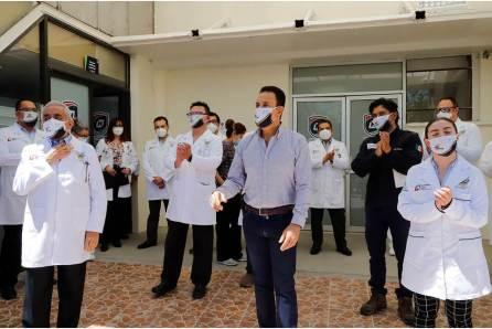 Anuncia Fayad estímulo económico a personal médico y de enfermería2