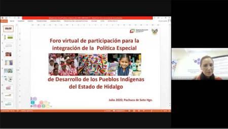Aportan pueblos y comunidades indígenas para actualización del Plan Estatal de Desarrollo2