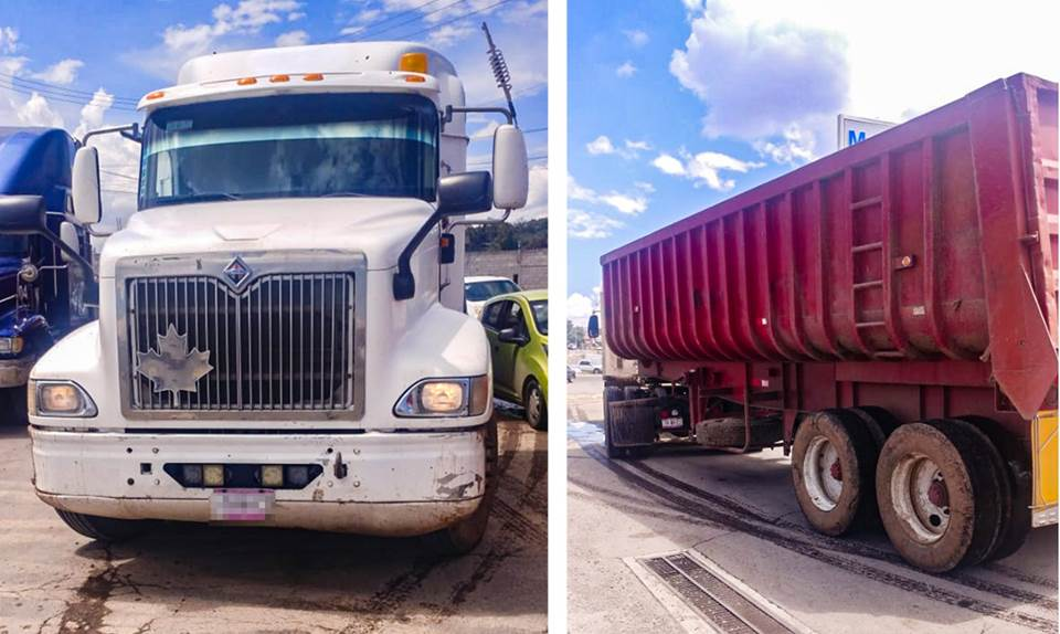 Asegura SSP de Hidalgo a tres personas presuntamente relacionadas con robo a autotransporte