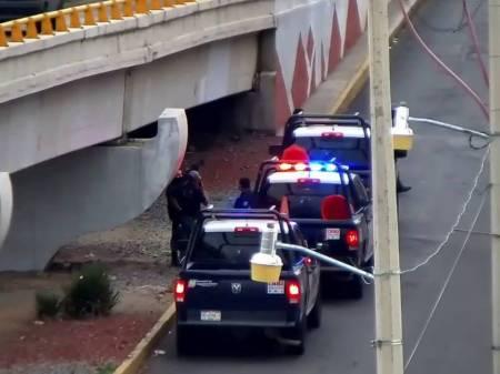 Asegura SSP Hidalgo a dos personas por presunto