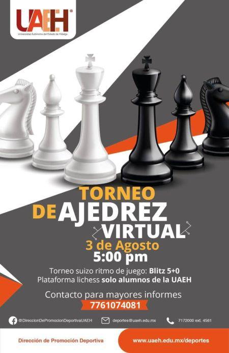 Con torneo de ajedrez retornan actividades deportivas a la UAEH