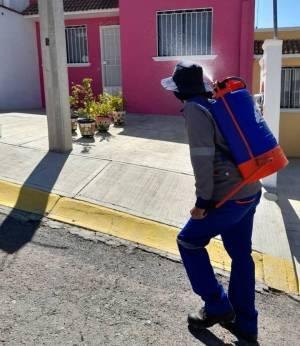 Continúan acciones de desinfección en colonias de Mineral de la Reforma8