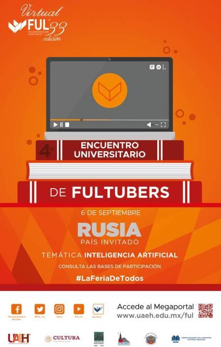 Convocatoria para participar en Cuarto Encuentro Universitario de FULTubers