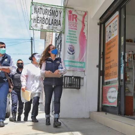 Coordina Mineral de la Reforma, brigadas preventivas ante permanencia en semáforo rojo por Covid-19 -3