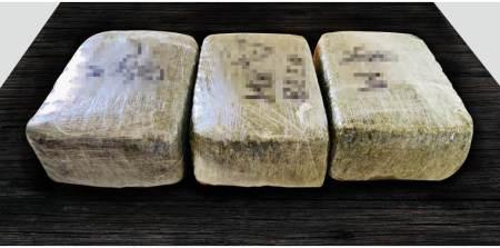 Detienen a una persona y aseguran 15 kilos de probable marihuana en Tula