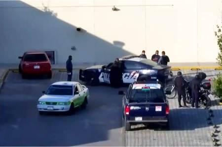 Dos hombres armados fueron detenidos en Pachuca, luego de darse reporte de detonaciones