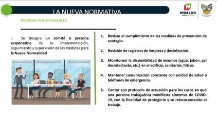 """El INHIDE realiza la conferencia virtual """"Regreso a la nueva normalidad para gimnasios"""""""