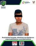 En acciones contra armas y drogas, asegura SSP de Hidalgo a 3hombres