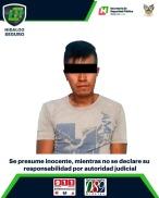 En acciones contra armas y drogas, asegura SSP de Hidalgo a 3 hombres