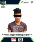 En acciones contra armas y drogas, asegura SSP de Hidalgo a 3hombres2