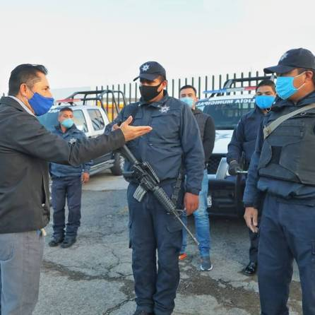 Entrega alcalde Raúl Camacho, 5 nuevas patrullas para la seguridad de las y los mineralreformenses 1
