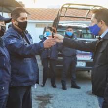 Entrega alcalde Raúl Camacho, 5 nuevas patrullas para la seguridad de las y los mineralreformenses 3