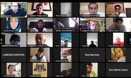 """Erick Gutiérrez Quiñonez imparte la sesión virtual """"Detección de talentos deportivos""""1"""