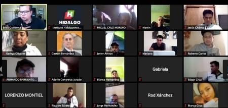 """Erick Gutiérrez Quiñonez imparte la sesión virtual """"Detección de talentos deportivos""""2"""