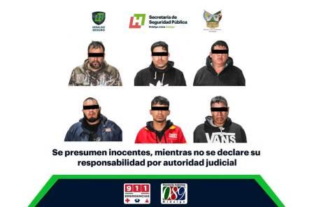 Frustran presunto atraco a tienda de conveniencia en Tizayuca; hay seis detenidos3