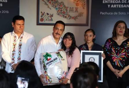 Gobierno de Hidalgo respalda al sector artesanal 4