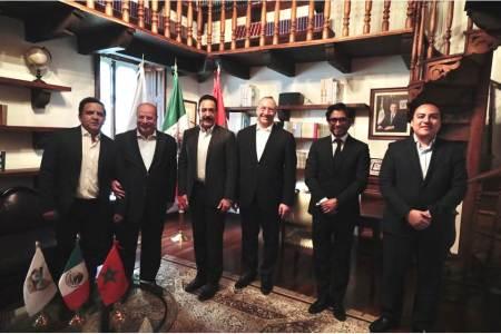 Hidalgo estrecha lazos en materia económica con Marruecos