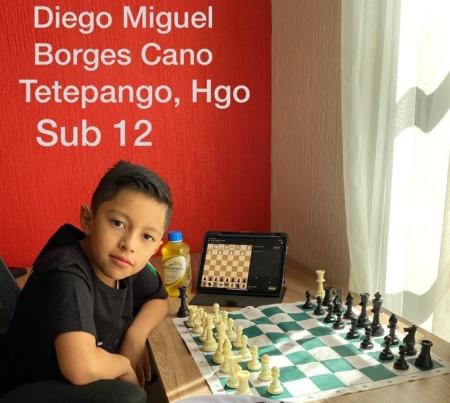 Hidalgo se proclama campeón del Circuito Nacional Infantil y Juvenil por Selecciones Estatales de Ajedrez2