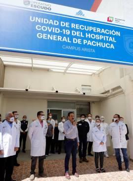 Inaugura Omar Fayad Unidad de Recuperación para pacientes Covid-19, única en el país6