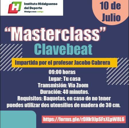 """INHIDE invita a la actividad virtual """"Masterclass Clavebeat"""""""