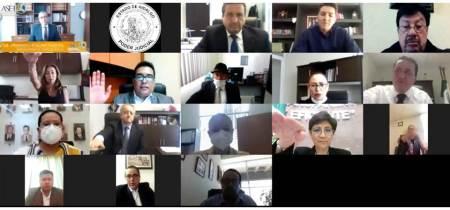 Instalación y Toma de Protesta del Comité Control y Desempeño Institucional del Poder Judicial del Estado de Hidalgo COCODI, sesión virtual