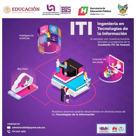 La ingeniería en Tecnologías de la Información de la UPMH forma parte del programa de la academia ICT de Huawei2