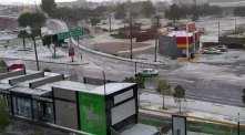 Lluvia y granizada al sur de Pachuca4