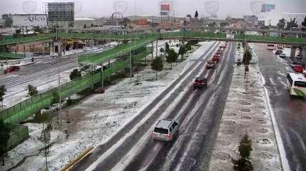 Lluvia y granizada al sur de Pachuca7