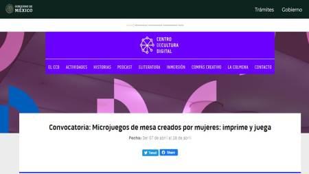 micro juegos, centro cultural digital