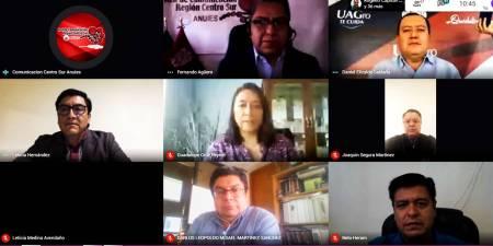 Participa UAEH en XXXIV Sesión Ordinaria de la Red de Comunicación ANUIES