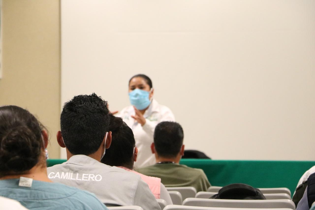 Personal en Hidalgo de las UMF y hospitales de reconversión Covid-19 del IMSS recibieron asesoría psicológica