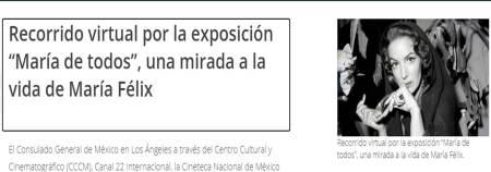 recorrido virtual Exposición María de Todos
