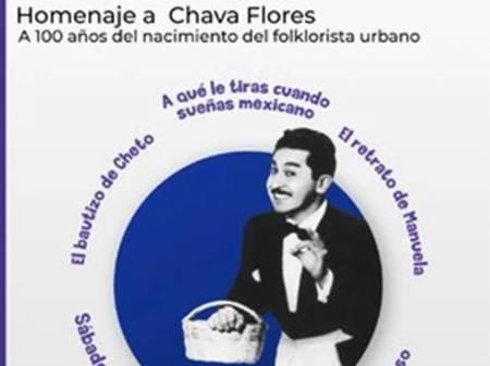 Secretaría de Cultura e INBAL rinden homenaje virtual al cronista y compositor mexicano Chava Flores