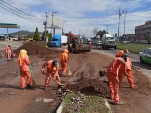 SOPOT realiza trabajos de limpieza por lluvias en zona Metropolitana de Pachuca1