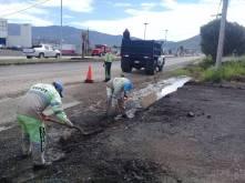 SOPOT realiza trabajos de limpieza por lluvias en zona Metropolitana de Pachuca4