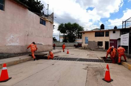 Trabajos de mitigación en el Tezontle4