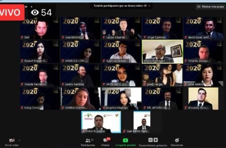 UPT realizó Ceremonia de Entrega Virtual de Títulos Profesionales Electrónicos 2020-2