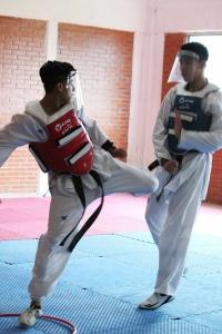 Asociación Hidalguense de Tparticipa en el entrenamiento internacional de combate México-Argentina 2020_2